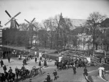Nu staat 'ie er rustig bij, maar in 1949 sloeg de molen in de Adelaarsstraat compleet op hol (en dit is waarom)