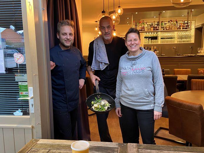 Brasserie De Kadee serveert al zijn gerechten in een afhaalversie.