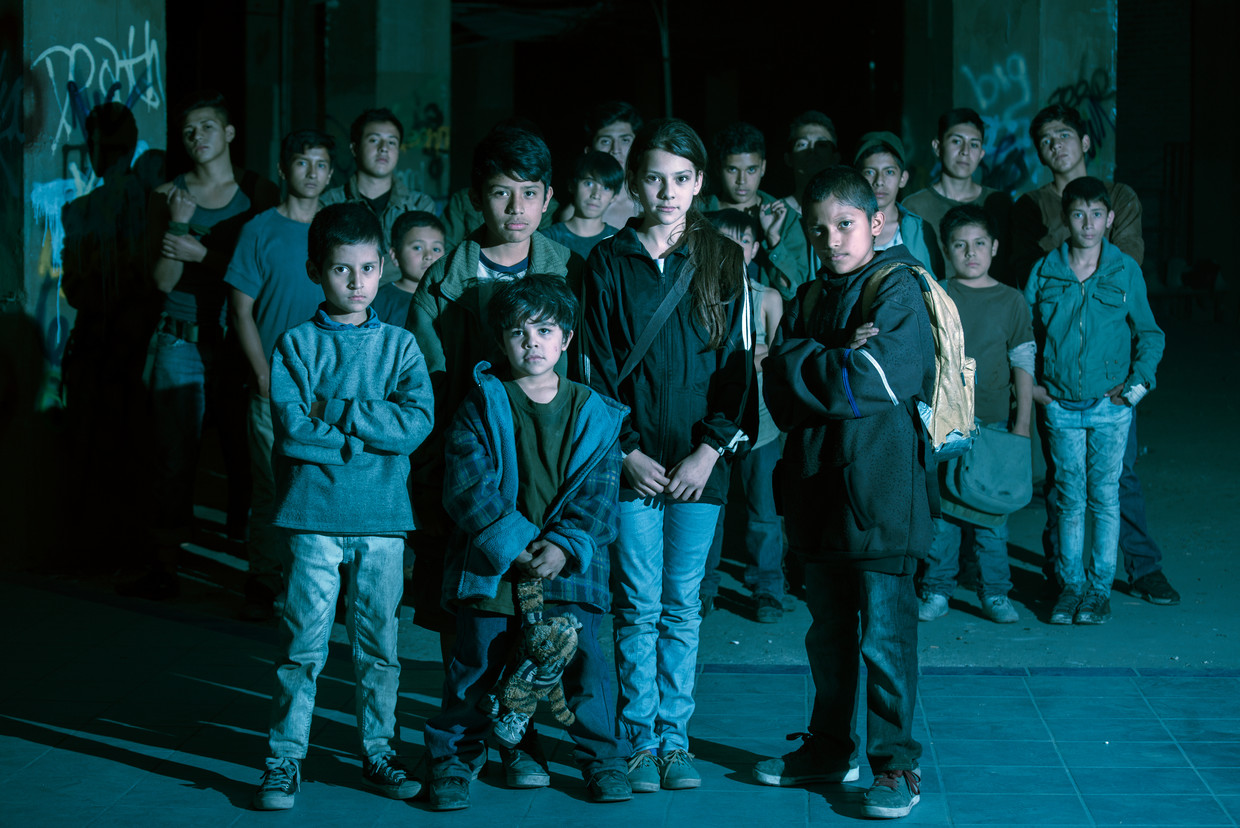 De kinderen uit 'Tigers are not afraid'