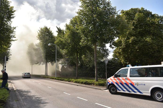 Brand bij woning in Rijsbergen.