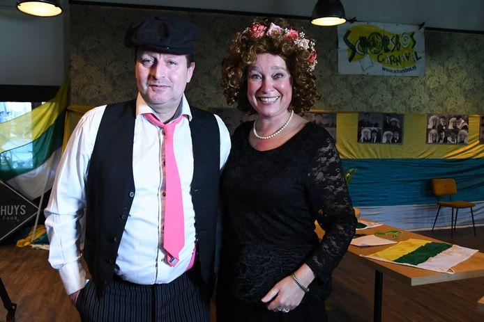 Ron van Kaathoven en Agnes Dissel