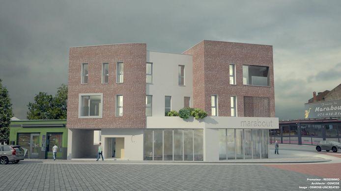 Le magasin Marabout à Gilly (Charleroi) va être transformé