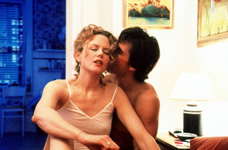 Nicole Kidman en Tom Cruise in Stanley Kubricks 'Eyes Wide Shut'. Beeld Getty Images