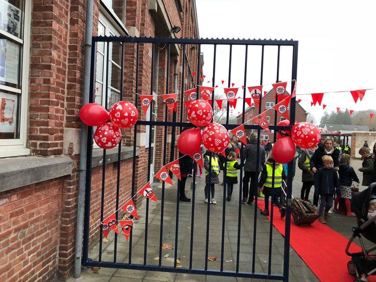 Vrije Basisschool Tremelo neemt voor de tweede keer deel aan Rode Neuzen Dag.