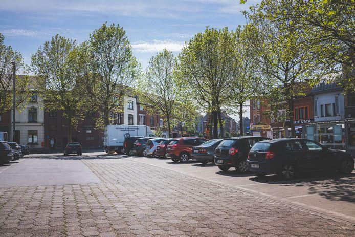 La place Van Beveren à Gand.