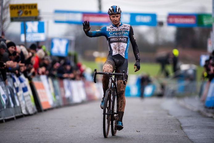 Tim Merlier eindigde gisteren tweede in Otegem