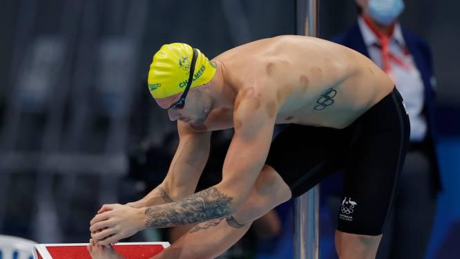 Pourquoi certains athlètes des JO ont des taches rondes sur la peau