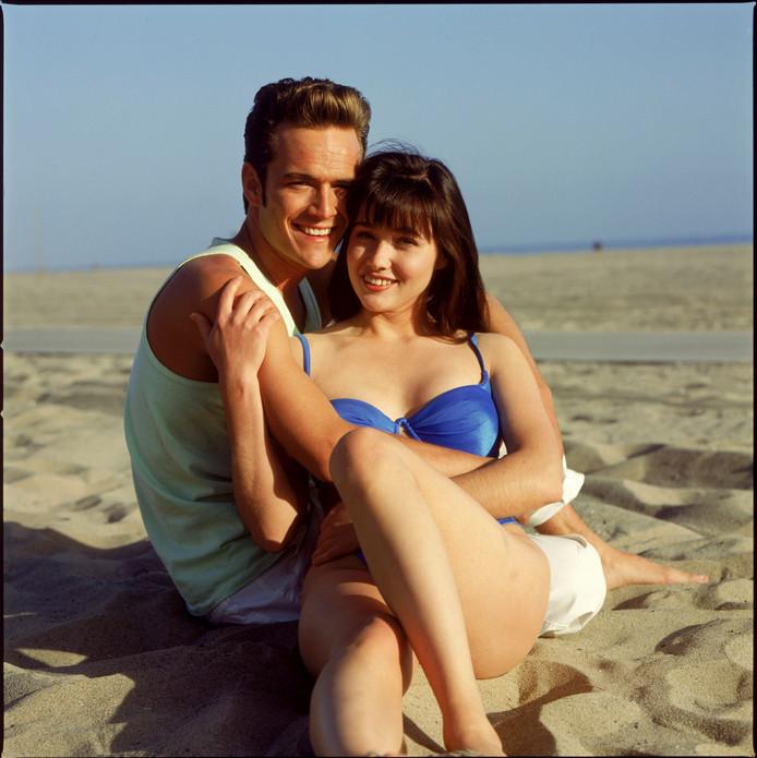 """Les deux acteurs étaient devenus amis sur le tournage de la série """"Beverly Hills 90210"""""""