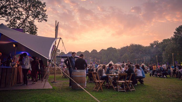 Bacchus Wijnfestival Beeld Bacchus Wijnfestival