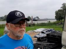 Camping aan IJssel in Terwolde ontruimd vanwege hoog water: 'Snel wegwezen!'
