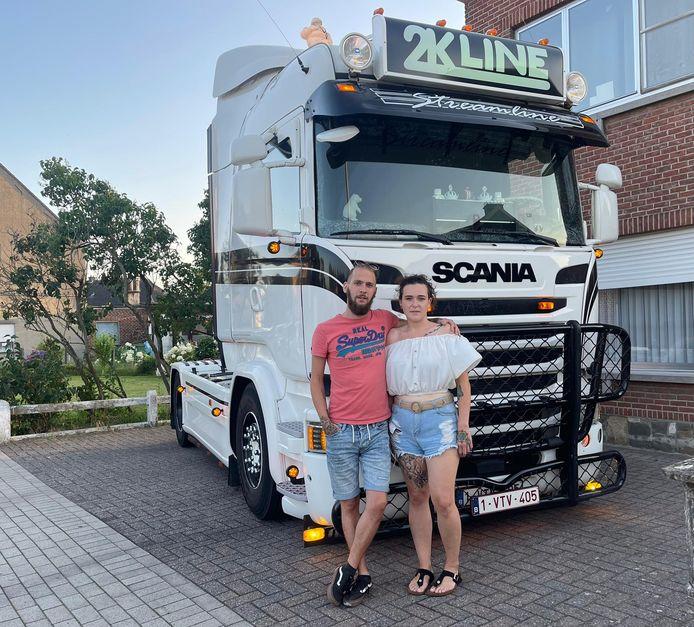 Stijn Van Laethem en Jade Degeest. 2K-line zorgt voor transport (Koen De Pauw).