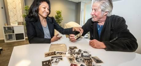 Lucenda Hilt vindt portemonnee met oude foto's op haar Eindhovense vliering, zoon van eigenaar is verguld: 'Ongelooflijk!'