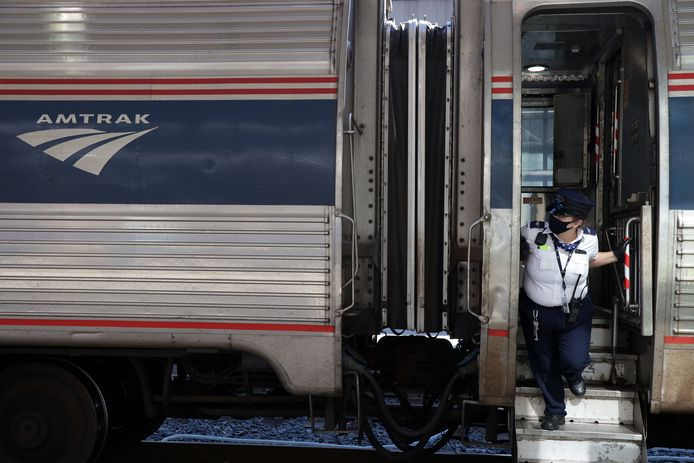 Een trein van Amtrak. Foto ter illustratie.