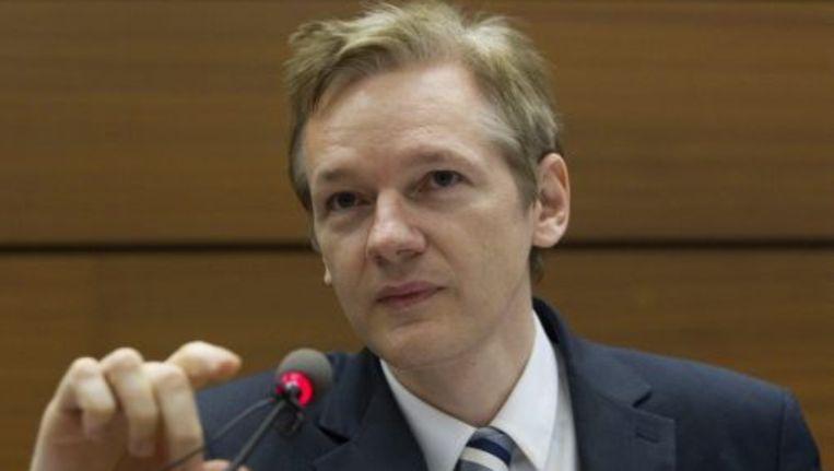 Julian Assange. © EPA Beeld