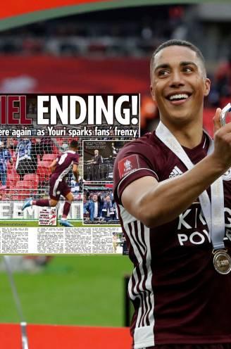"""Engelse pers smult van glansprestatie en prachtgoal Tielemans: """"Van het beste dat Wembley ooit zag"""""""