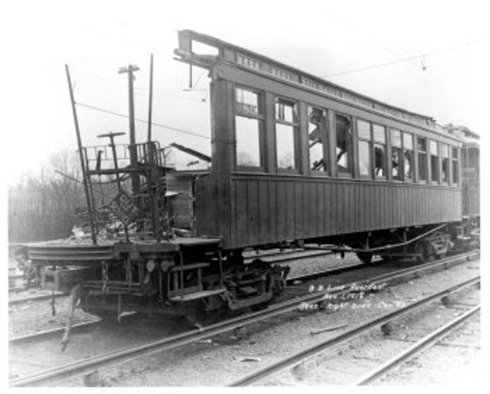 Treinramp New York 1918