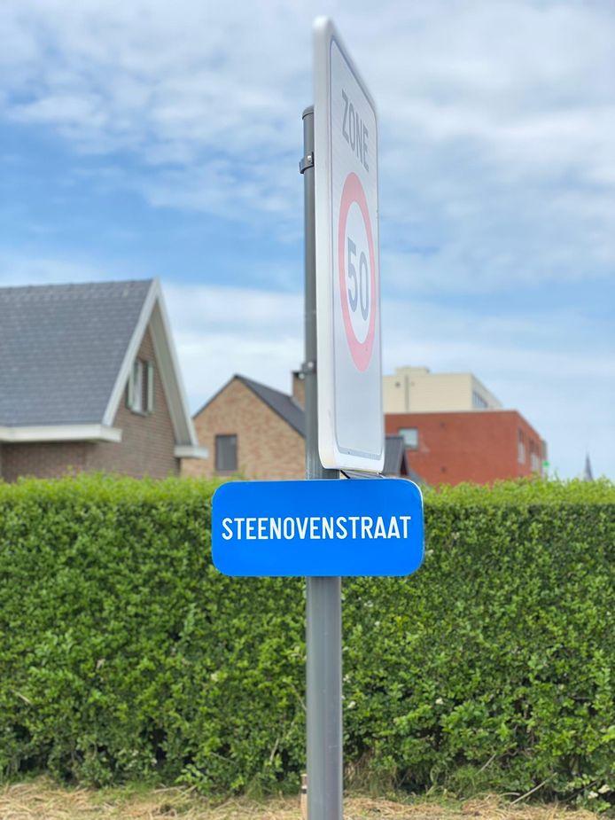 De nieuwe weg kreeg de naam Steenovenstraat.