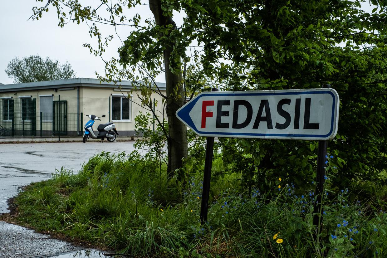 Het lichaam van Daniël El Alali (9) werd vorige week teruggevonden in de omgeving van het asielcentrum in Broechem. Beeld Wouter Maeckelberghe