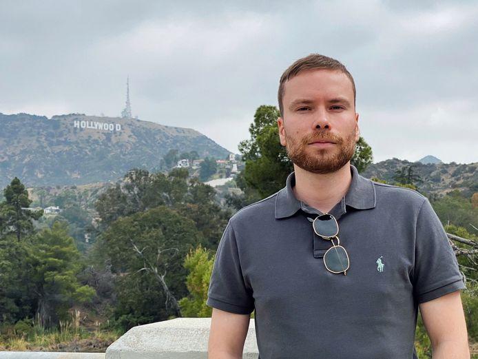 Thom Reimerink woont dicht bij de grote filmstudio's van Hollywood.