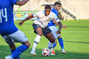 Sikou Niakaté in actie voor de Franse U19.