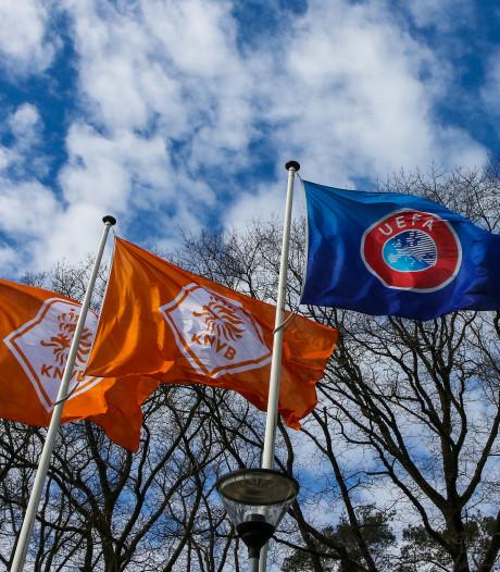 KNVB: Definitief afbreken van betaald voetbalcompetities een mogelijkheid