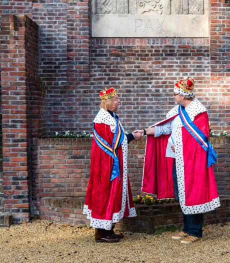 'Willem-Alexander en koning Filip' ontmoeten elkaar in Amersfoort