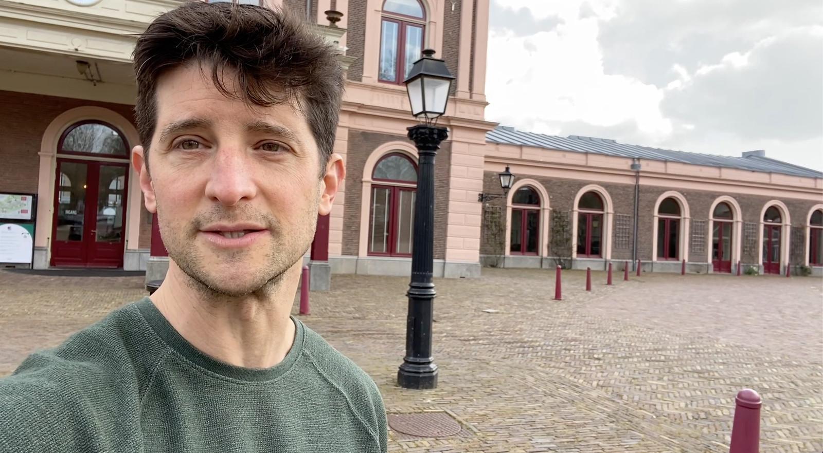 Lee J. Kaplan verhuisde voor liefde naar Utrecht.