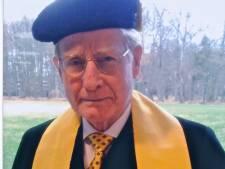 Sportieve professor overleden na lang en bloeiend leven