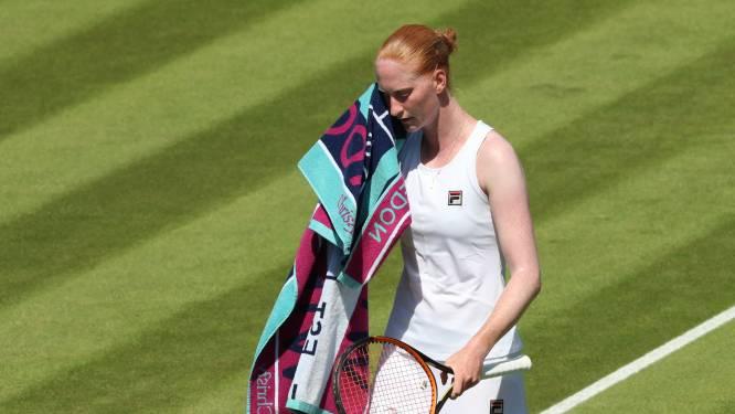 's Werelds nummer één Barty maat te sterk voor Van Uytvanck in tweede ronde op Wimbledon