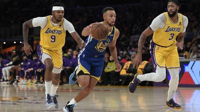 Curry pakt meteen uit met triple-double tegen LA Lakers, ook kampioen Milwaukee start in stijl
