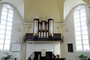 Het orgel in de Höftekerk in Hardenberg.