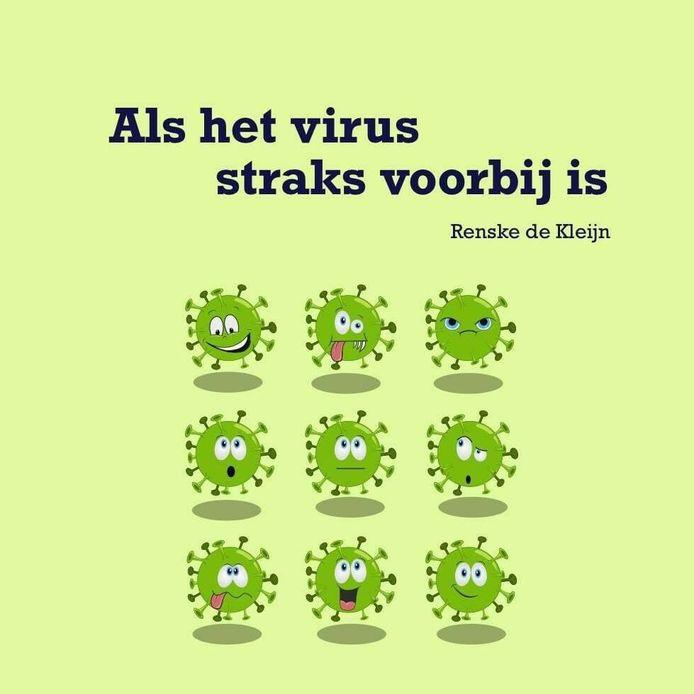 De omslag van het boek 'Als het virus straks voorbij is' van Renske de Kleijn.