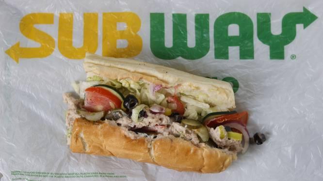 Amerikaanse laboratoriumtest vindt geen enkel spoor van tonijn terug in broodjes tonijn van Subway