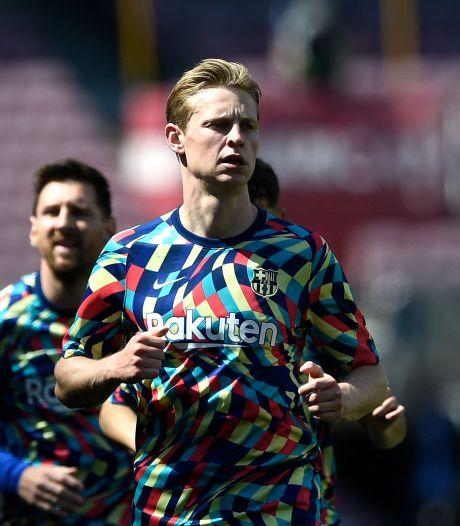 LIVE   Barça met De Jong en Dest begonnen aan kraker tegen koploper Atlético, Koeman nog geschorst