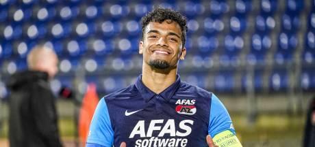 Trotse Wijndal ook captain bij AZ tegen Sparta: 'Het is bijzonder voor hem'