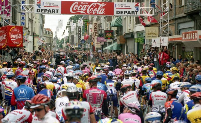 In 1996 was Den Bosch in de ban van de Tour de France.