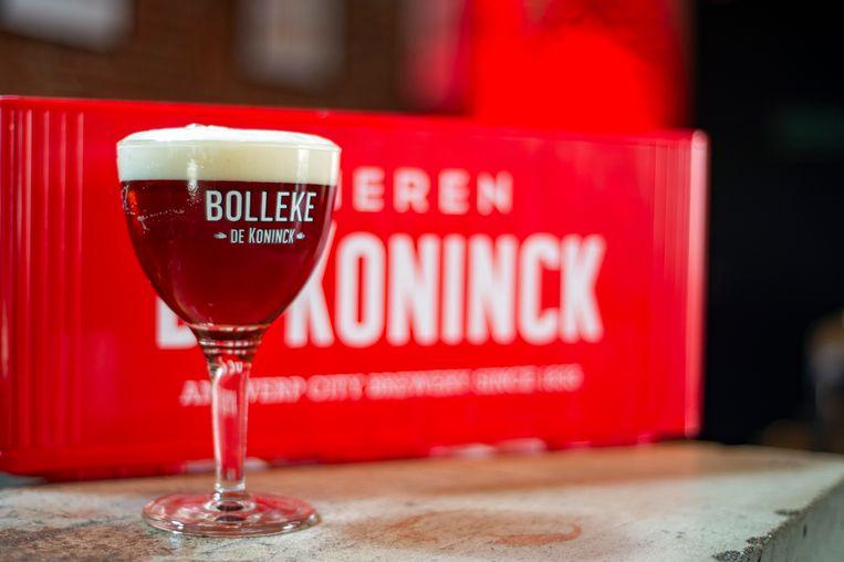 De Spéciale Belge van brouwerij De Koninck sinds kort ook officieel 'Bolleke'.