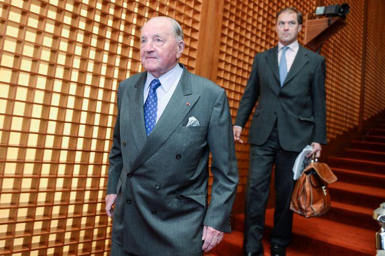 De 92-jarige Albert Frere staat op plaats 258 in de Bloomberg Billionaire Index.