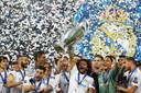 Nog maar drie jaar geleden: Marcelo met de Champions League na de zege op Liverpool.