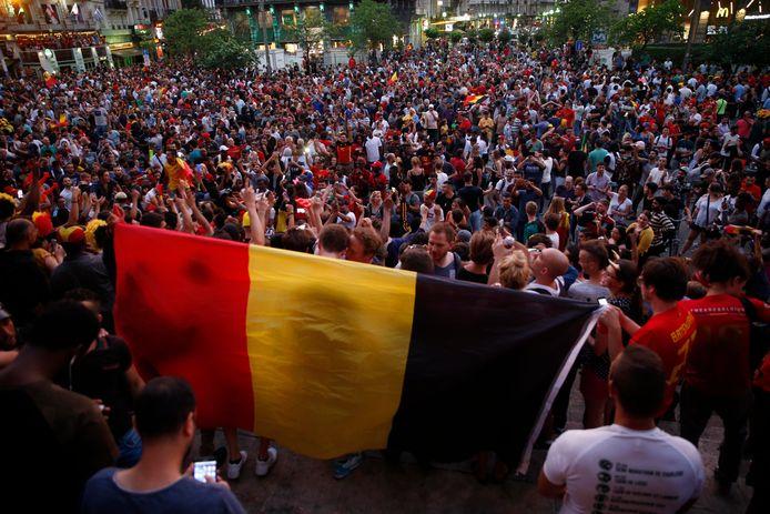 Bruxelles lors de la Coupe du monde 2018