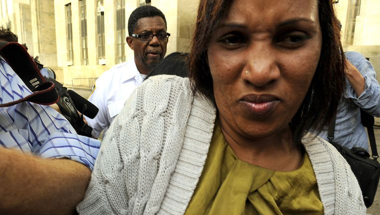 Nafissatou Diallo, kamermeisje van Dominique Strauss-Kahn. Beeld afp