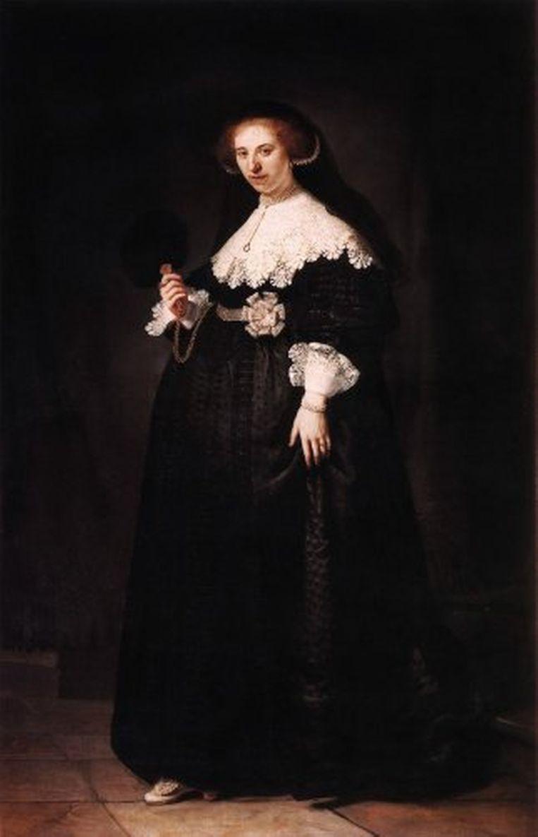 Het portret van de 23-jarige Amsterdamse Oopjen Coppit, geschilderd in 1634. Beeld Art Market Monitor
