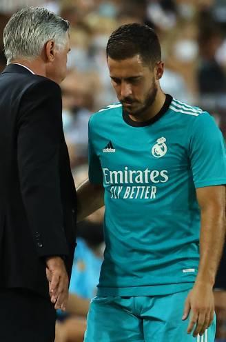 """Real-coach Ancelotti over Hazard: """"Hij is het beu om die problemen te hebben"""""""