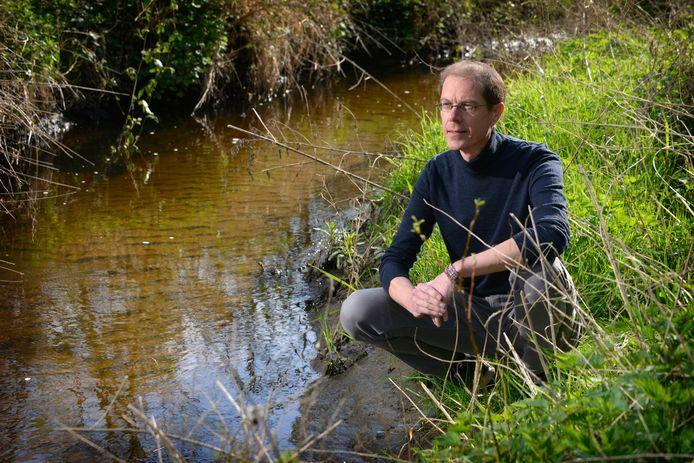 Hoogleraar watermanagement Arjen Hoekstra