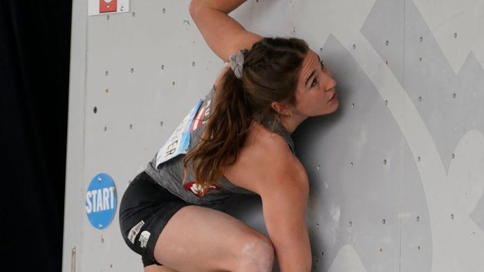 La grimpeuse Johanna Färber