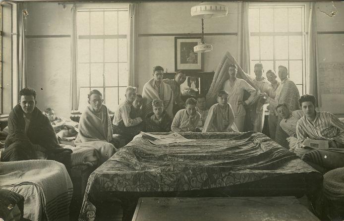 De Spaanse griep woekerde ruim honderd jaar geleden.
