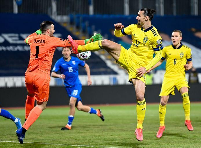 epa09103626 Zlatan Ibrahimovic gaf in twee duels al twee assists.