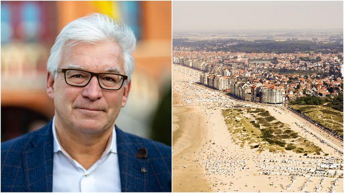Burgemeester Piet De Groote is tevreden met de resultaten van de Gemeente-Stadsmonitor 2021 voor Knokke-Heist.