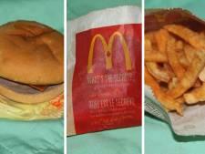 Hamburger na zes jaar zo hard als een hockeypuck, maar lijkt nog steeds vers