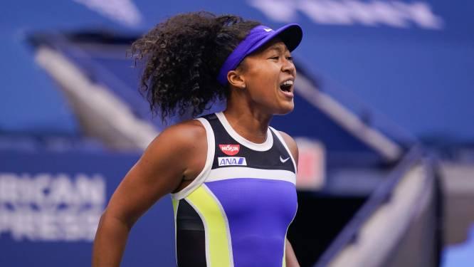 Naomi Osaka wint US Open in drie sets na indrukwekkende remonte tegen Azarenka